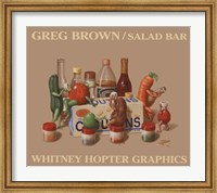 Framed Salad Bar