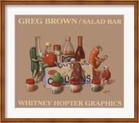 Framed Salad Bar