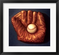 Framed Baseball Mitt I
