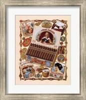 Framed Jose Pinero Cigars