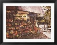 Framed Greenwich Village Flowers