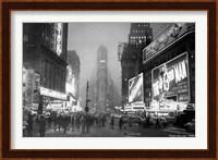 Framed Times Square, 1949
