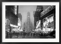Framed Times Square, 1949