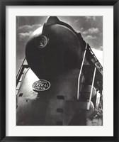Framed New York Central Locomotive