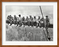 Framed Lunchtime Atop a Skyscraper, c.1932