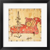 Framed Crazy Chaise I
