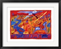 Framed Crow Indians of North America