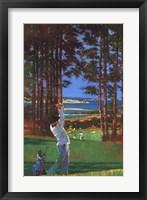 Framed Golfer