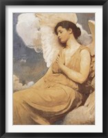 Framed Winged Figure