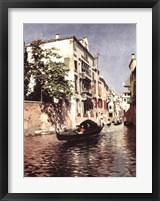 Framed Venetian Gondola