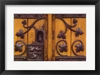 Framed Great Town Hall Door