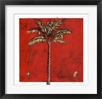 Framed Maya Palm