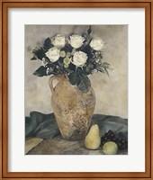 Framed Rose Still Life