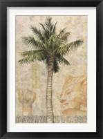 Framed Egyptian Palm I