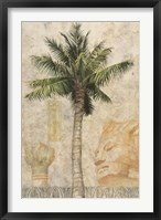 Framed Egyptian Palm I