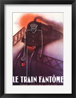 Framed Le Train Fantome