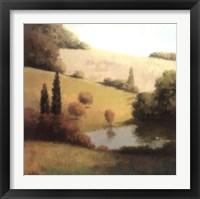 Framed Inspired Hillsides I
