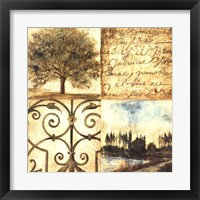 Letters from Home I Framed Print