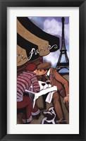 Framed Paris Rendezvous