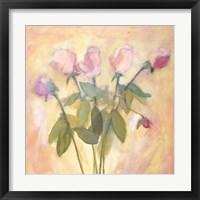 Framed Rose Buds
