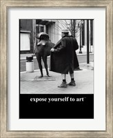 Framed Expose Yourself to Art