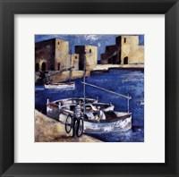 Framed Tres Barcas y Bicicleta