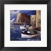 Framed Dos Barcas