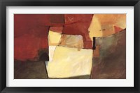 Weekly Abstract Framed Print