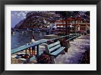 Framed Catalina Promenade