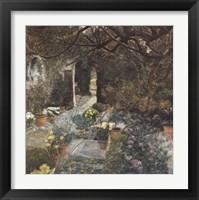 Framed Secret Garden