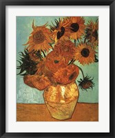 Framed Sunflowers No 2