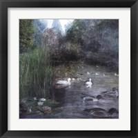 Framed Walden Pond