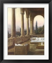 Framed Arched Tuscan Remembrances