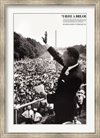 Framed King: I Have a Dream