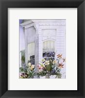 Framed Victorian Windows