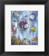 Framed Rainbow Fish III