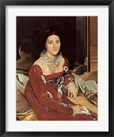Framed Madame De Sennones