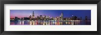 Framed Chicago Illinois - Series 3-Ov