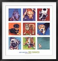 Framed Big Dawgs