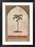 Framed Arec Palm