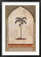 Framed Arec Palm