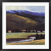 Framed Foothills In The Late Spring
