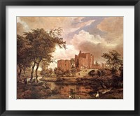 Framed Ruins of Brederode Castle