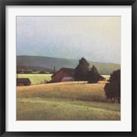 Framed Summer Morning in the Valley