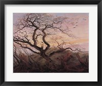 Framed Tree with Crows