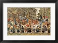 Framed Central Park, 1901