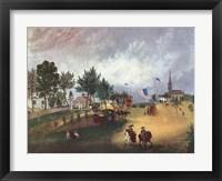 Framed Barnstable Mass 1857