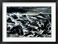 Framed Stormy Waters