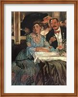 Framed Chez Mouquin