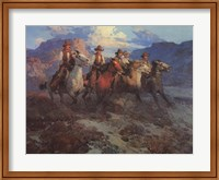 Framed Riders of the Dawn